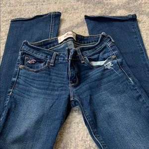 Hollister bootcut jeans size 3s